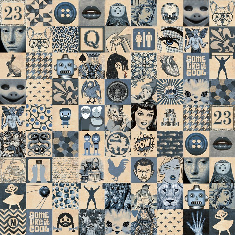 azulejos indy pop