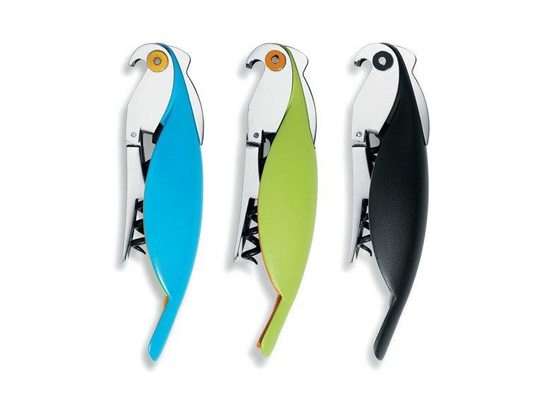 Apribottiglie Alessi pappagallo