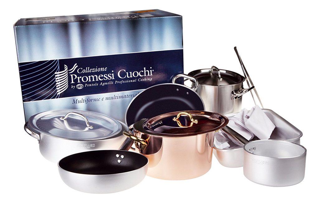 Pentole Agnelli: collezione promessi cuochi