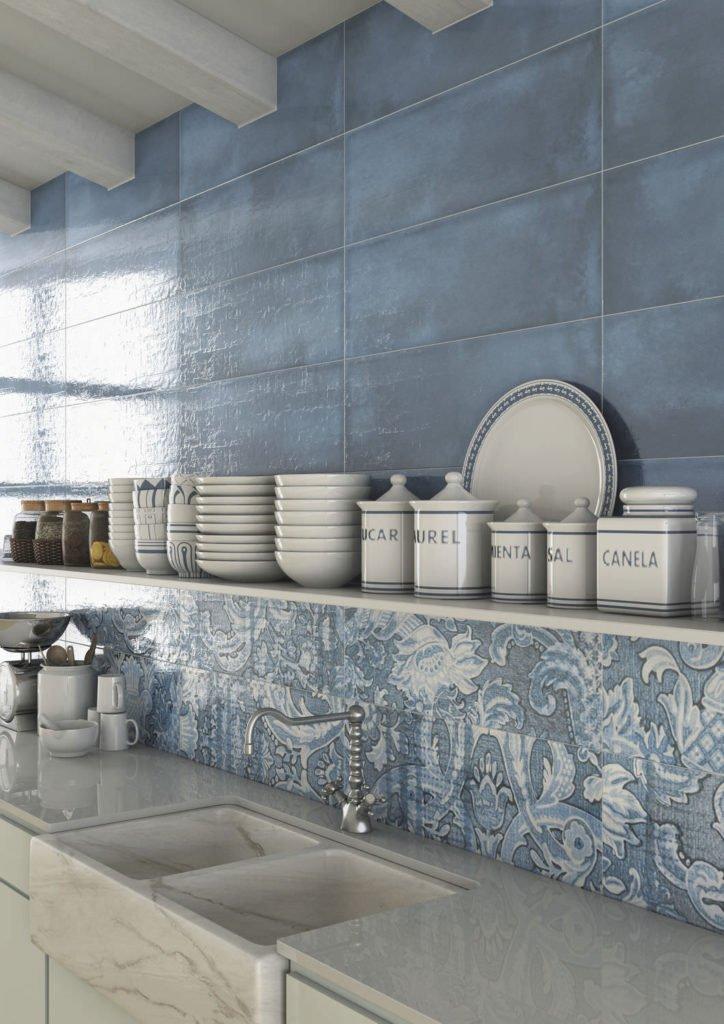 Azulejos portoghesi piastrelle e rivestimenti per bagno e casa designandmore arredare casa - Alternativa piastrelle cucina ...