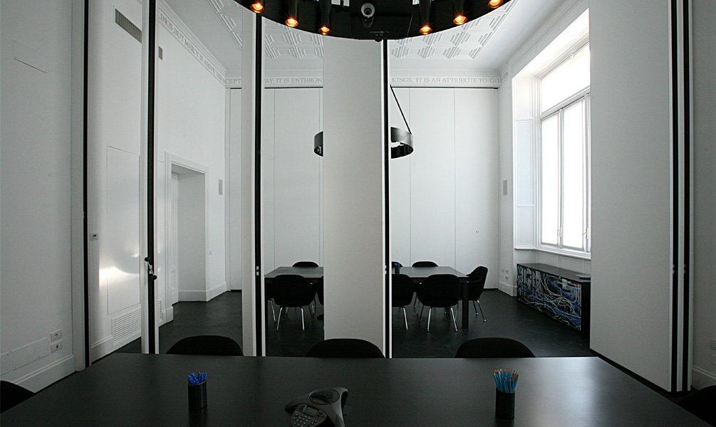 Pareti mobili per ufficio e per la casa tanti modelli - Pareti divisorie casa ...