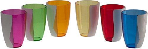 bicchieri colorati guzzini