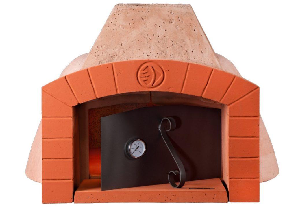 Forno a legna da esterno in muratura e acciaio inox - Temperatura forno a legna pizza ...