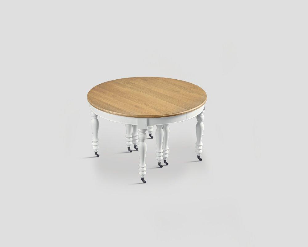 tavolo allungabile dialma brown