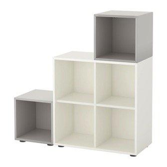 Libreria ikea billy liatorp e laiva ed altre selezionate for Cubi libreria ikea