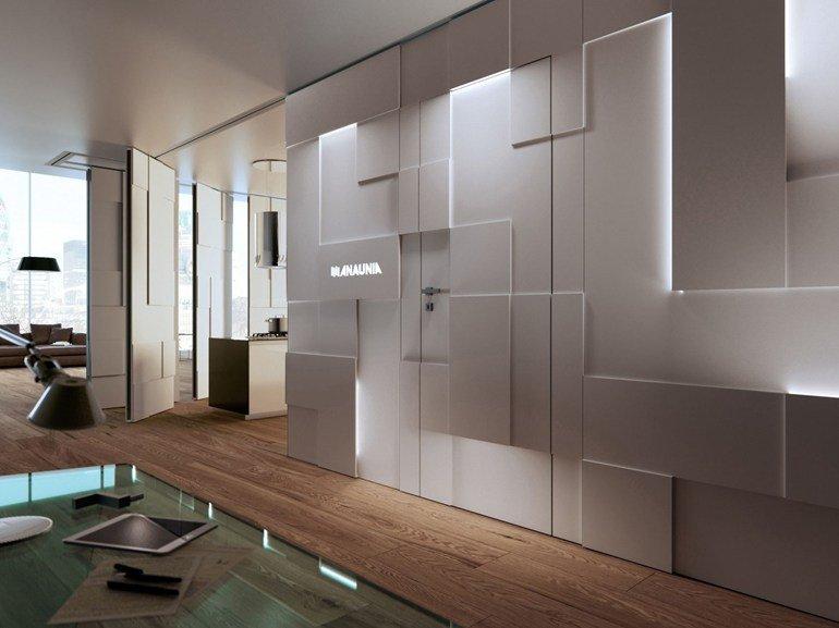 pareti mobili di design