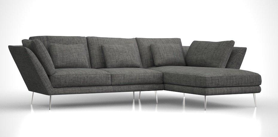 Divani Poltrone e Sofa in tessuto