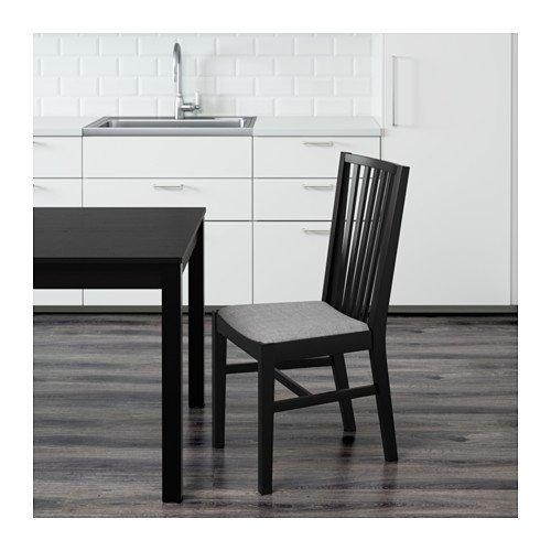 sedie ikea in legno Norrnas