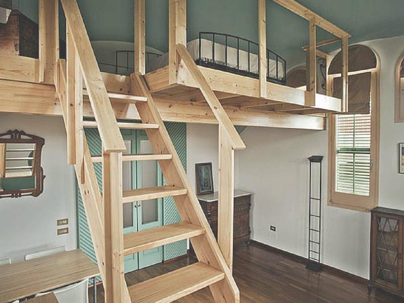Soppalco in legno materiali diversi tipologie e prezzi for Costruire una scala in legno per soppalco