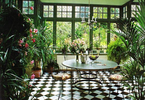 caratteristiche giardino d'inverno
