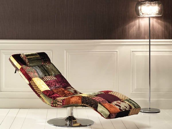 patchwork arredissima chaise longue