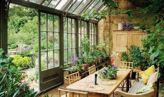 giardino d'inverno progettazione