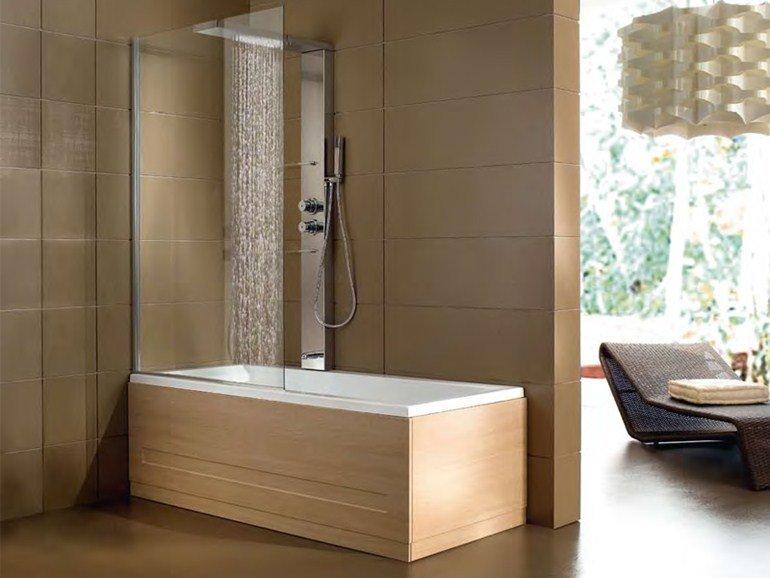 Vasca con doccia una soluzione versatile eccovi tanti - Vasca interrata ...