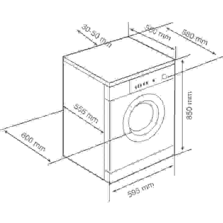 Dimensioni Lavatrice Standard Ridotte O Extralarge Eccovi La Guida