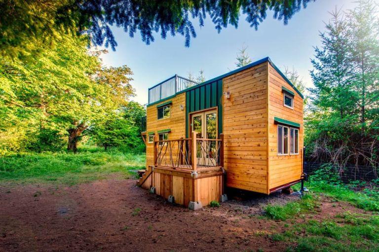 mini case in legno
