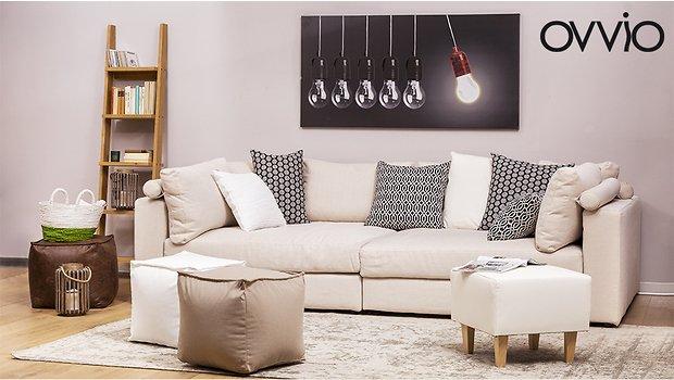 Ovvio catalogo divani tessili ed accessori per la casa - Ovvio divani letto ...