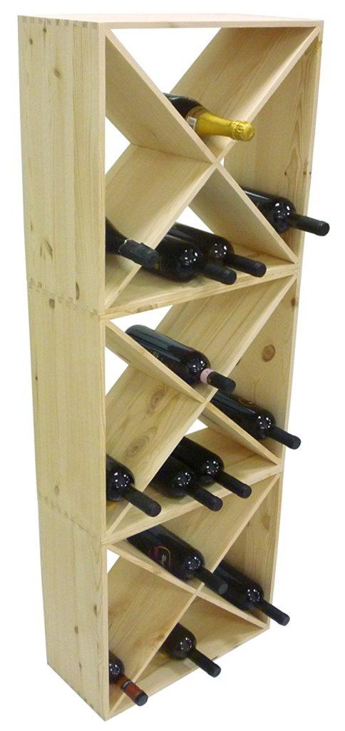 porta vino componibile
