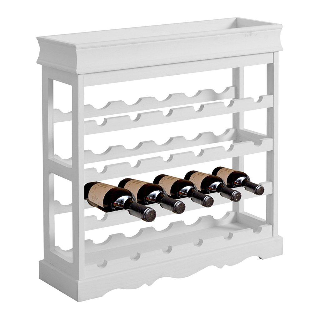 porta vino stile shabby