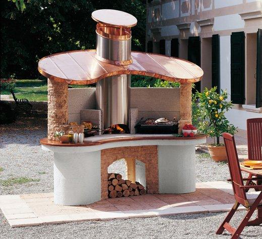 barbecue in muratura Palazzetti
