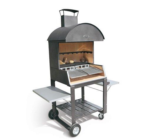 palazzetti barbecue in acciaio