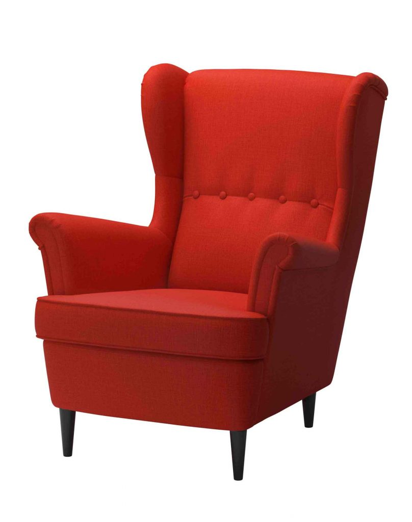 Poltrona bergere di design ikea maison du monde for Fauteuil ikea orange