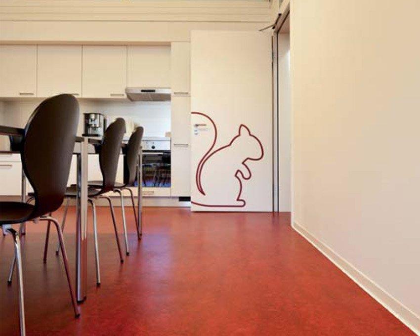 pavimento linoleum caratteristiche