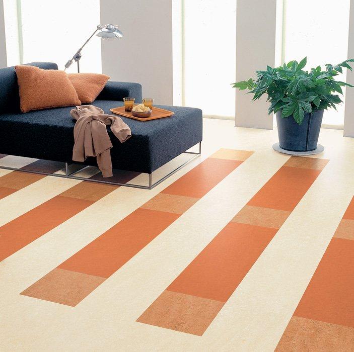 Linoleum pavimenti prezzi ed esempi di finto legno con foto designandmore arredare casa - Piastrelle linoleum autoadesive ...