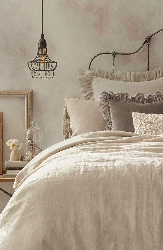 Tende shabby camera da letto beautiful esempi di arredamento shabby chic per la camera da letto - Tende camera da letto maison du monde ...