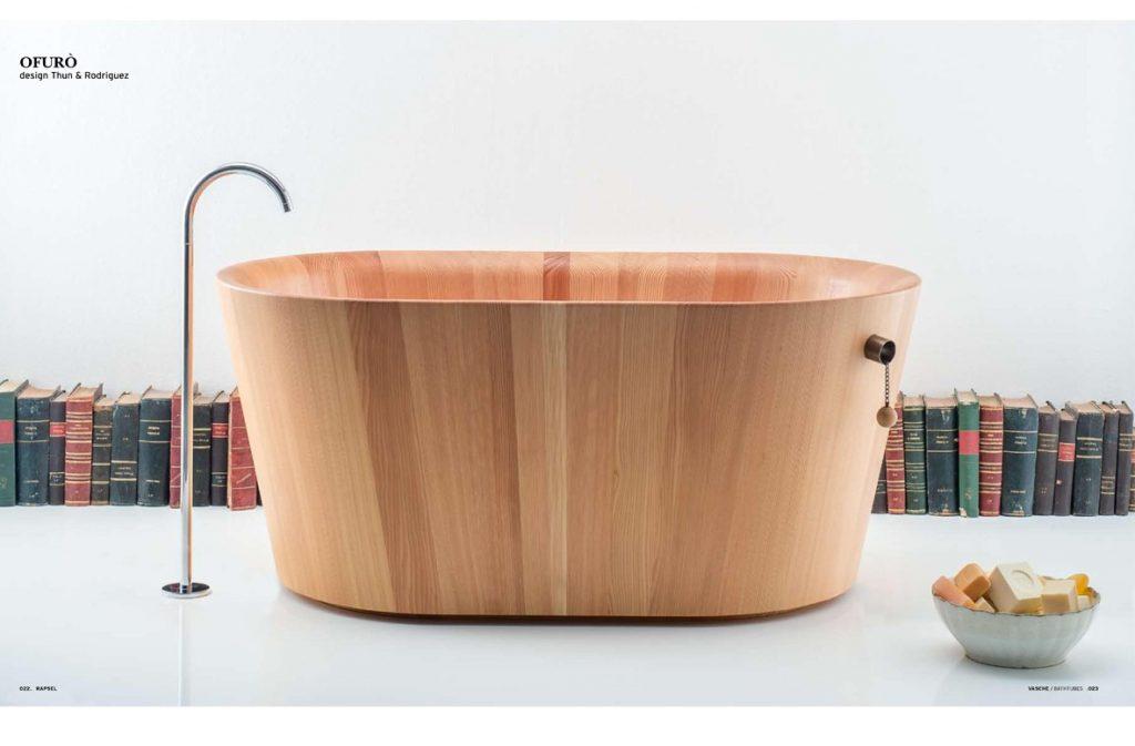 Vasca Da Bagno Ofuro : Rapsel soluzioni di arredo bagno contemporaneo molto estrose