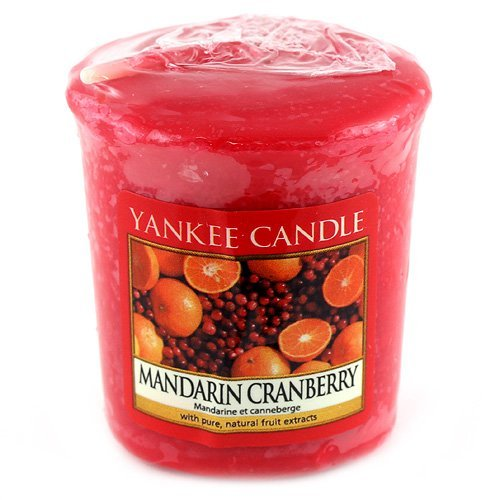 yankee candle colore rosso