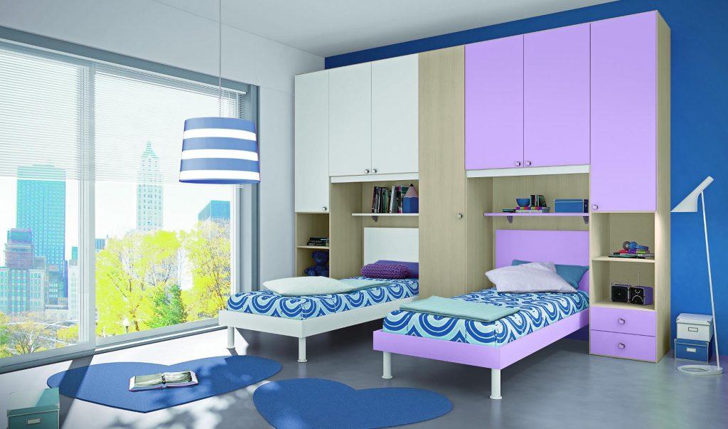 Camerette colombini soluzioni componibili e salvaspazio per bambini designandmore arredare casa - Camera da letto gialla ...