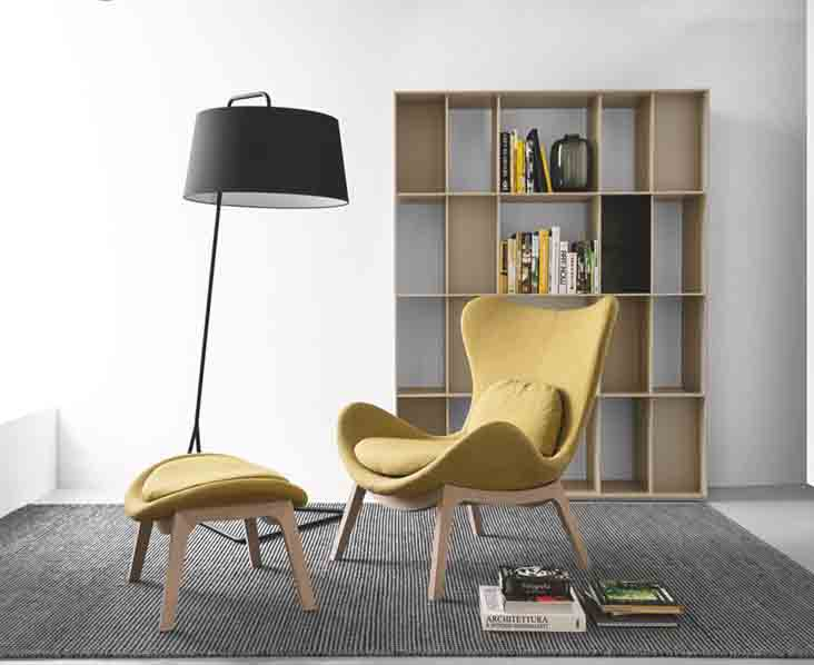 Calligaris catalogo sedia lazy w