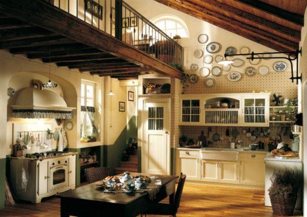 stili dei progetti case di campagna