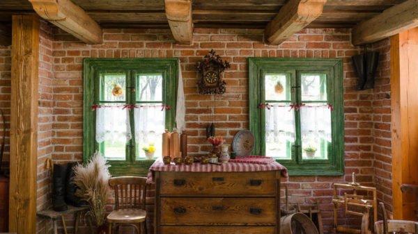 progetti case di campagna arredo cucina