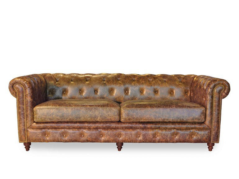 colore marrone chesterfield