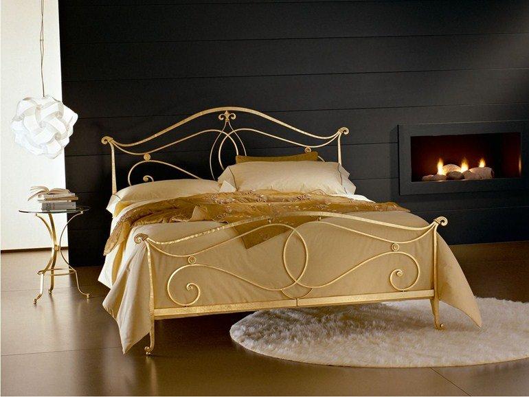 letto color oro ciacci