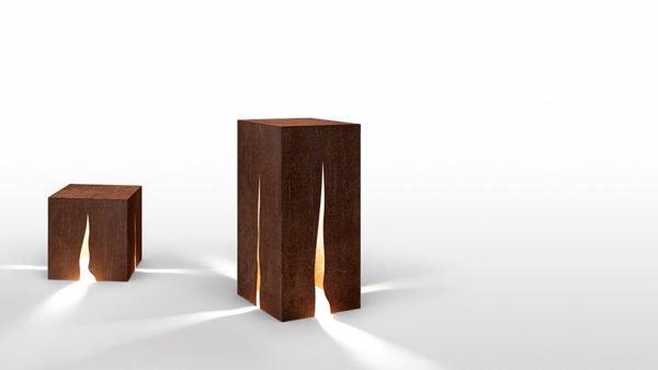 artemide lampada granito