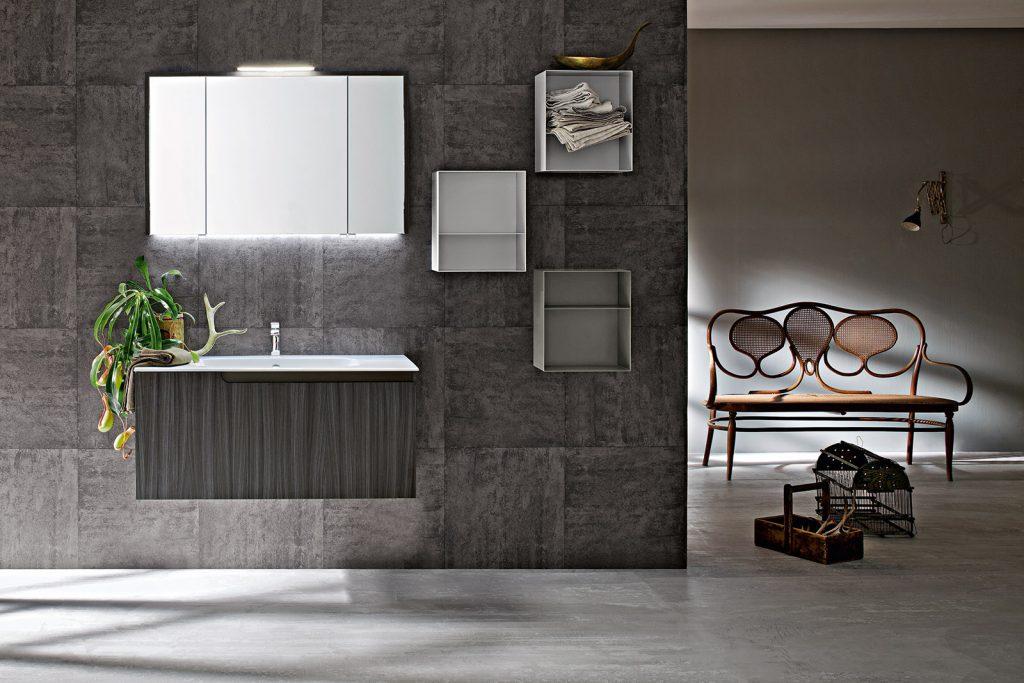 colore grigio per il bagno
