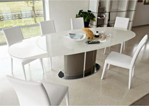 Odissey tavolo calligaris bianco