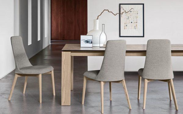 tavolo calligaris omnia in legno