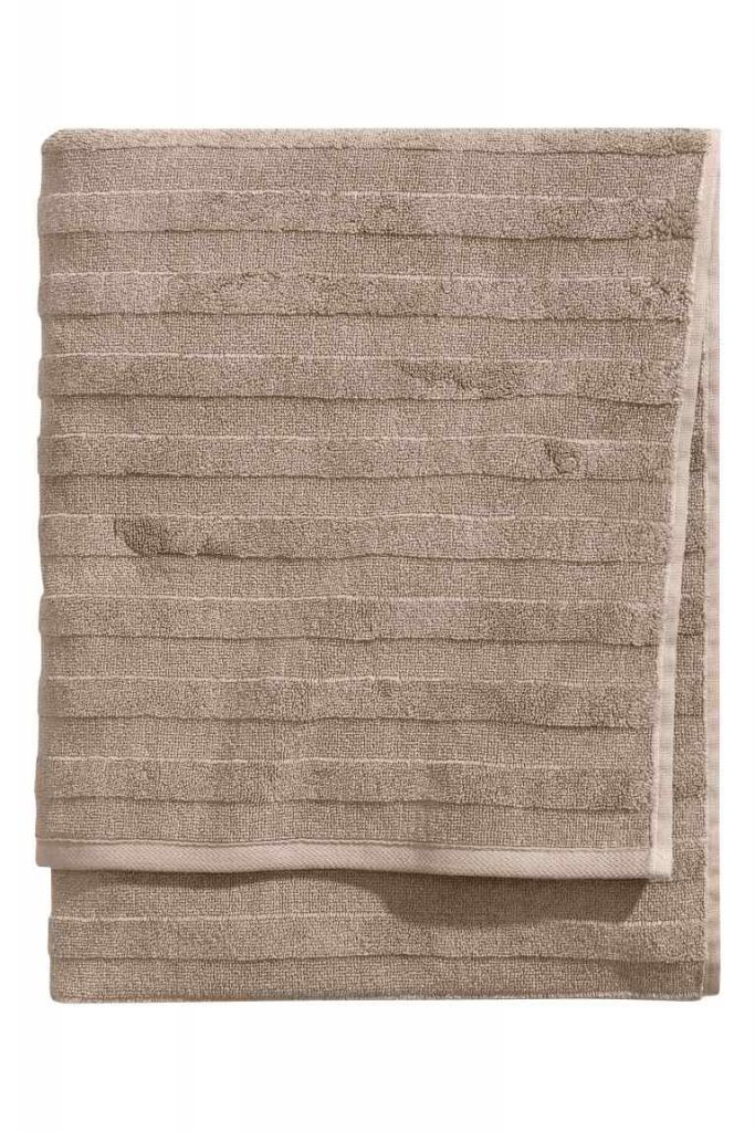 asciugamano colore marrone
