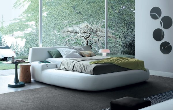 poliform letto matrimoniale