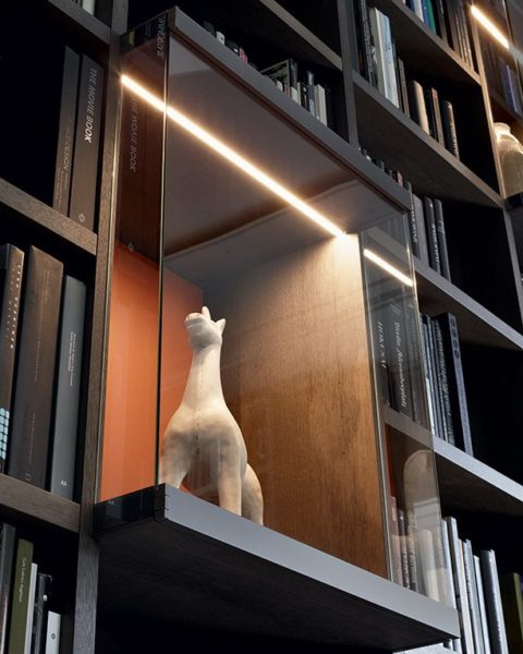 wall system poliform libreria