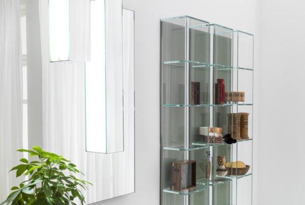 Artelinea mobili accessori specchi top e lavabi per il bagno designandmore arredare casa - Vetrinette da parete ...
