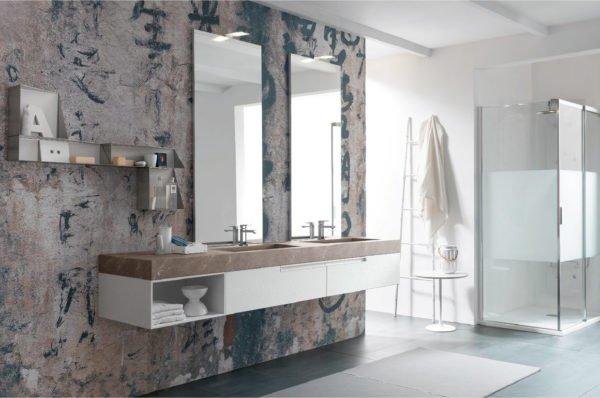 doppio lavabo lime 1.0 azzurra