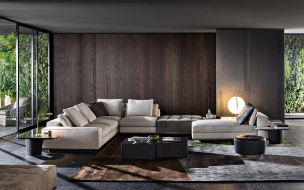 minotti divani collezione lawrence