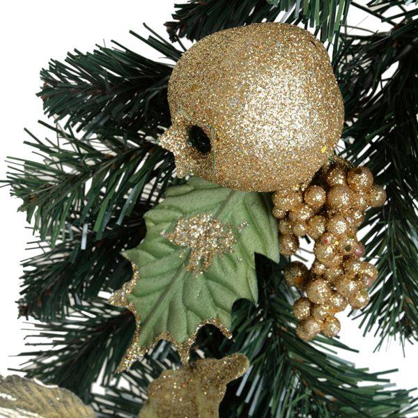 ghirlande natalizie con pigne