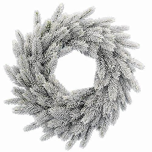 ghirlande natalizie effetto neve