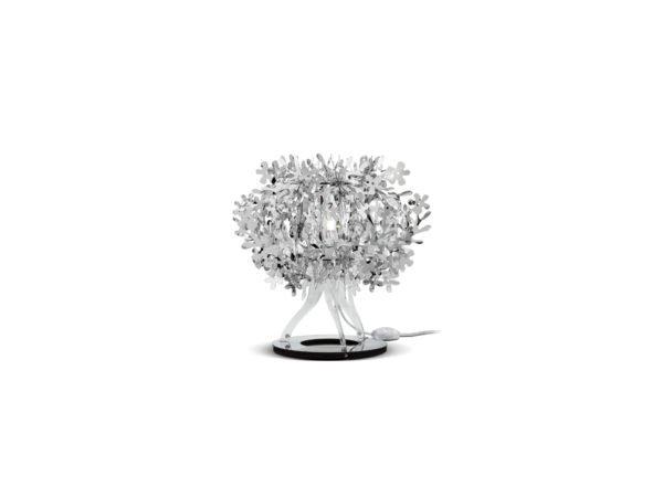 fiorellina lampade slamp argento