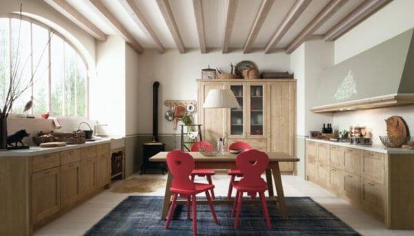 scandola mobili cucina rustica